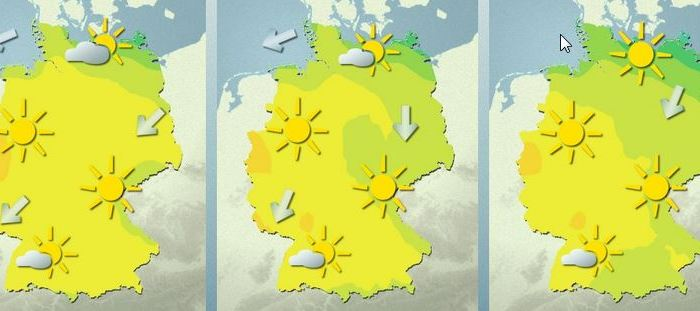 News? Ach komm! Let's talk about theweather!