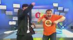 Bürger Lars Dietrich tanzt sich beim Finale von DEIN SONG 2104 durch sämtliche Z_2014-04-08_18-31-56